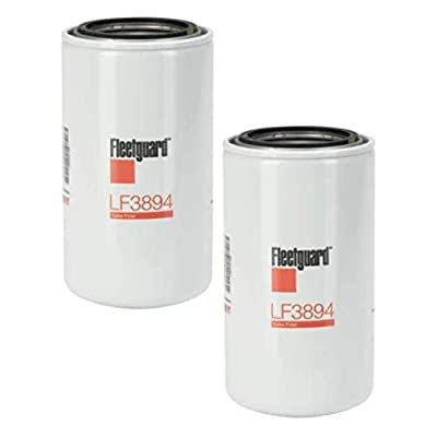 LF3894 Fleetguard, Lube Filter Spin - On (Pack of 2): Automotive