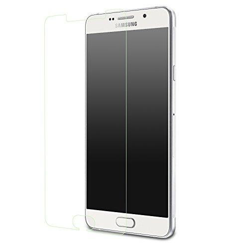 Galaxy A7 Screen Protector, MoKo HD Clear Screen Protector for Samsung Galaxy A7 5.5 Inch , Scratch Proof Anti-Bubble Glass Film
