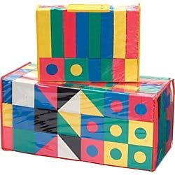 Creativity Street 152 pc Wonderfoam Blocks - Skill Developmental Toy
