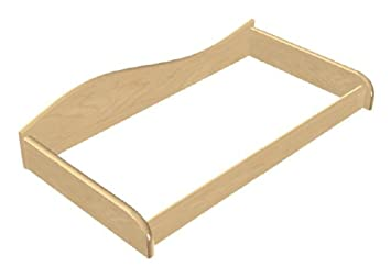 Room Magic Changing Table Tray, Natural