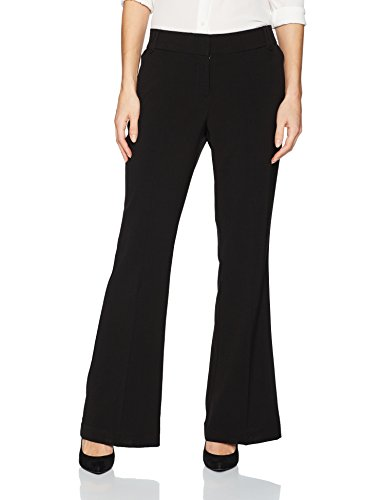 (Briggs New York Women's Pants, Black, 12)