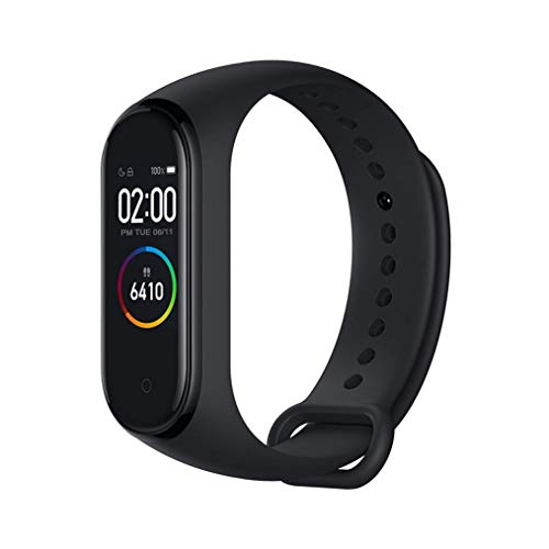 Xiaomi Band 4 Pulsera De Fitness Inteligente Monitor De Ritmo Cardiaco 135 Mah Pantalla Color Bluetooth 50 Mas Reciente 2019 Negro