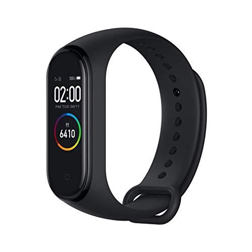 🥇 Xiaomi Band 4 Pulsera de Fitness Inteligente Monitor de Ritmo cardíaco 135 mAh Pantalla Color Bluetooth 5.0 más Reciente 2019