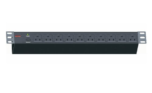 Maruson Technology PDU-R1510 1625W 10 Outlets 19-Inches RackMount PDU ()