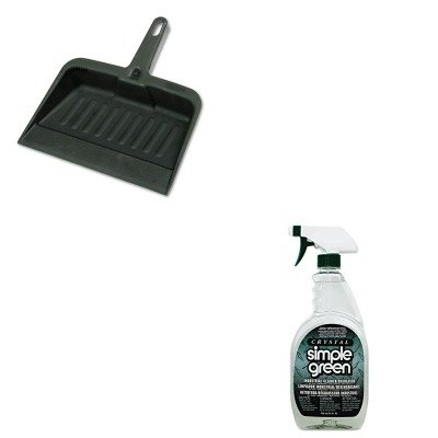 KITRCP2005CHASPG19024 - Value Kit - Simple Green All-Purpose Industrial Cleaner/Degreaser (SPG19024) and Rubbermaid-Chrome Heavy Duty Dust Pan (RCP2005CHA)
