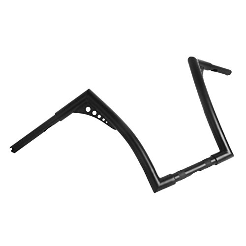 Craftride Handlebar Ape Hanger 18 for Harley Dyna Low Rider//S//Fat Bob black