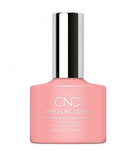 CND Shellac Luxe, Gel de manicura y pedicura (Pink pursuit) - 1 unidad cndlux46