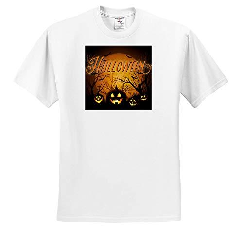Sven Herkenrath Celebration - Horror Halloween with Scary Pumpkin Autumn Celebration - T-Shirts - Adult T-Shirt 4XL -