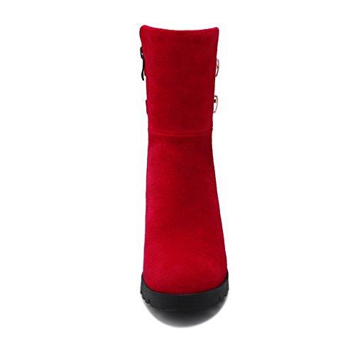 Abl09435 Balamasa Compensées Red Sandales Femme 4wwxvUH