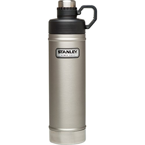 Stanley Classic Vacuum Water Bottle, Stainless Steel, 25 oz
