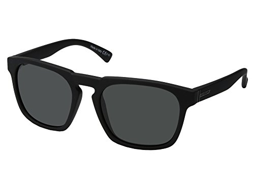 VonZipper Unisex Banner Black Satin/Grey One ()