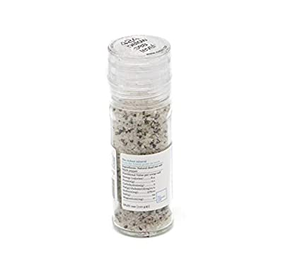 Black Pepper Gourmet Salt From The Dead Sea 3.87oz / 110 grams