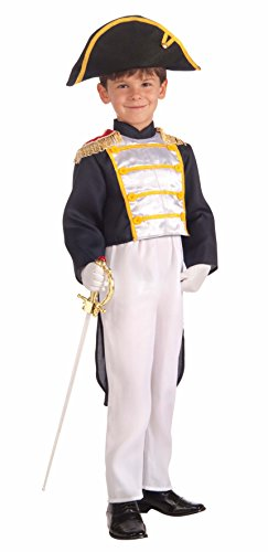 Forum Novelties Kids Colonial General Costume, X-Large (Colonial Day Costumes)