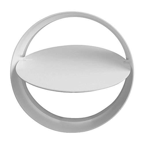 4 100mm Diameter by ACEL 6m Long Extractor Fan Hose Tube White Flexible Fan Ducting