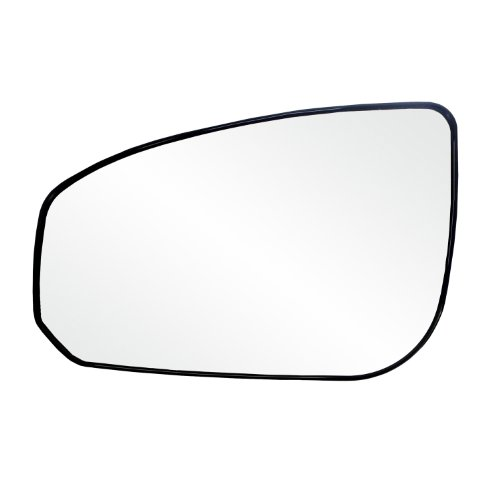 (Fit System 33190 Nissan Maxima Left Side Heated Power Replacement Mirror Glass with Backing Plate )