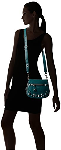 Small Shoulder Teal Recruit Studs Chipped Saddle Bag Marc Jacobs SYx58qTnwZ