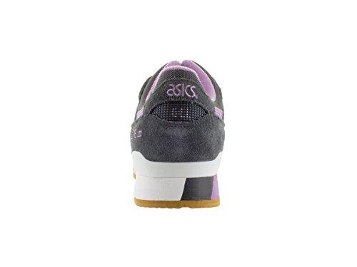 Asics Uomo Gel-lyte Iii Sneaker Grigio Scuro / Viola Lilla