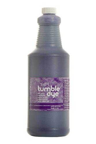 Sew Easy Industries Tumble-Dye Bottle, 1-Quart, Sports Purple by Sew Easy Industries