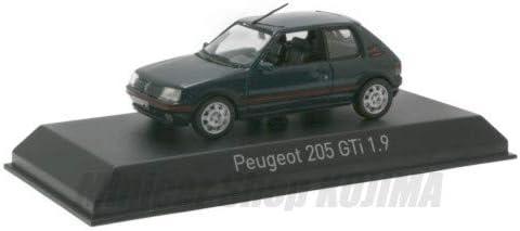 Norev Peugeot 205 GTI 1.9 1992 Green Model Car 1:43