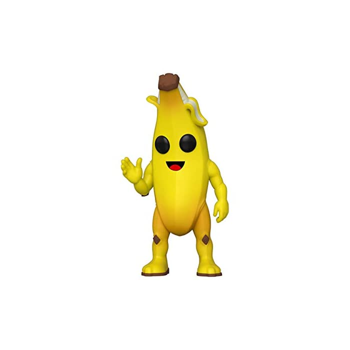 31OVM5jmMWL From fortnite, peely, as a stylized pop vinyl from funko Figure stands 9cm and comes in a window display box Check out the other fortnite figures from funko collect them all
