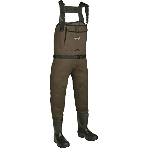 - Youth Hunting Waders Brown Chesapeake Neoprene Bootfoot Chest Wader, Green/Gray, Size 5
