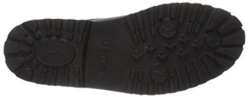 Ganter GREGOR, Weite G - zapatos con cordones de cuero hombre negro - Schwarz (schwarz 0100)