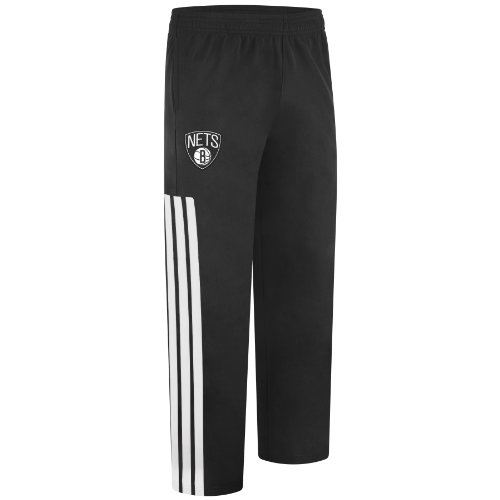 Warm Up Uniforms (NBA Brooklyn Nets On-Court Warm Up Pant, XX-Large, Black and)