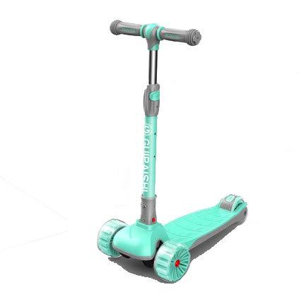 XYUJIE Kinderroller 3 Wheel Scooter,mit PU Leuchtenden Räder und Einstellbare Höhe für Kinder 2-10 Jahre alt-klappbar einfach mitzunehmen 04