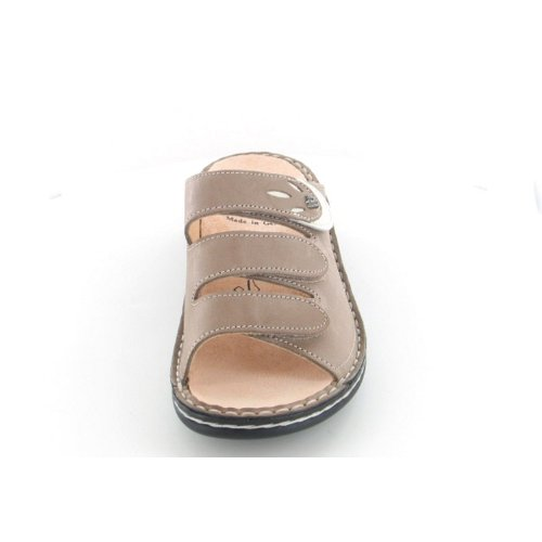 Finn Comfort - Zuecos de material sintético para mujer Beige - beige