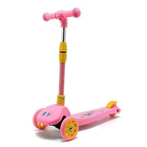 Roller Kinder Faltbares Dreirädriges Licht 3-8 jähriger jähriger jähriger Kinder-Blitz-Roller B07PMWY8J1 Skateboards Sport df58bc