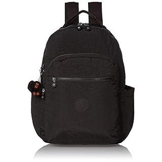 Kipling Women's Seoul Diaper Bag Backpack, True Black, One Size