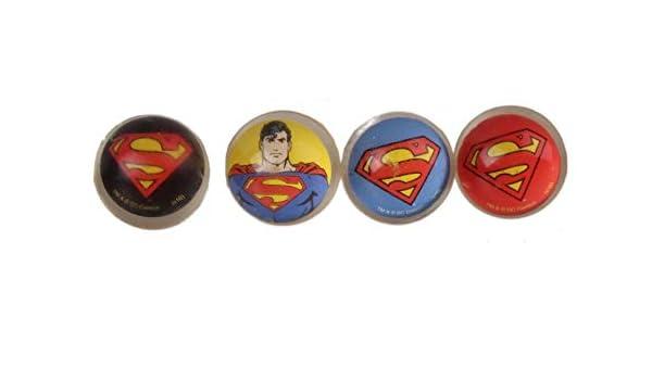 Blister 4 Pelotas Saltarinas Superman: Amazon.es: Juguetes y juegos