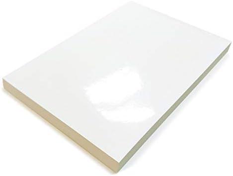 Selbstklebende Papieretiketten, 100 Blatt