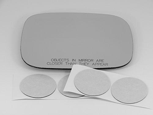 (08-10 Volvo V70 / XC70 / XC90 Passenger Side, Heated Mirror W/o Backing Plate.)