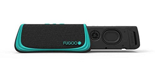 Fugoo Style Bluetooth Wireless Speaker 4 Rugged Sport model is snow proof, sand proof, and waterproof to 3 feet for 30 minutes Built-in microphone for full-duplex speakerphone, Siri, and Google Now capability Six drivers on four sides for a 360-degree sweet spot and incredible 95dB SPL-A volume