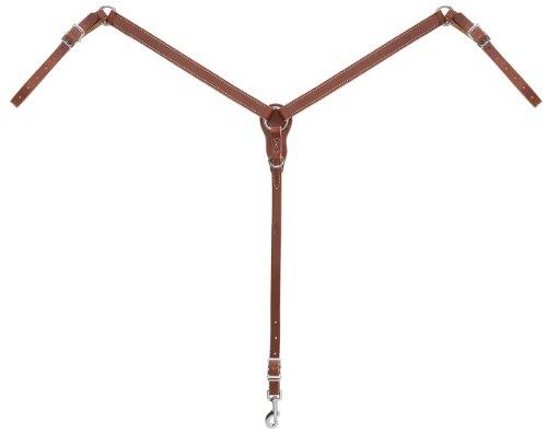 Weaver Leather Slim Ring-in-Center Pony Breast Collar, - Weaver Pony