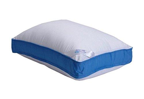 Pancake Pillow Extra Pillow Case (Queen, White)