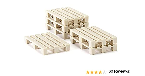 Siku 7015 - Palets en miniatura (50 unidades): Amazon.es: Juguetes ...