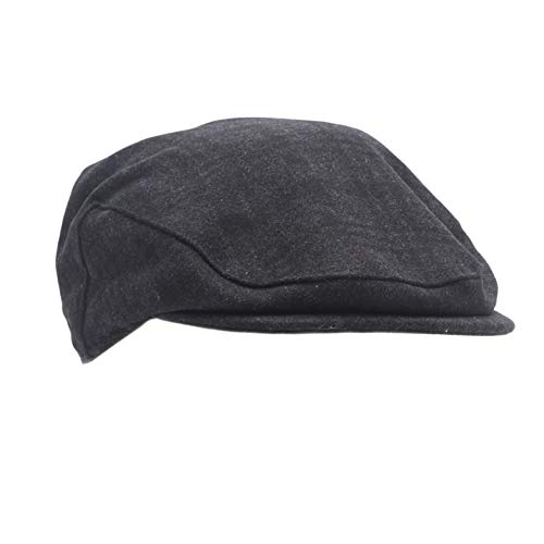 (Dockers Men's Ivy Newsboy Hat, Charcoal, Large/Extra Large)