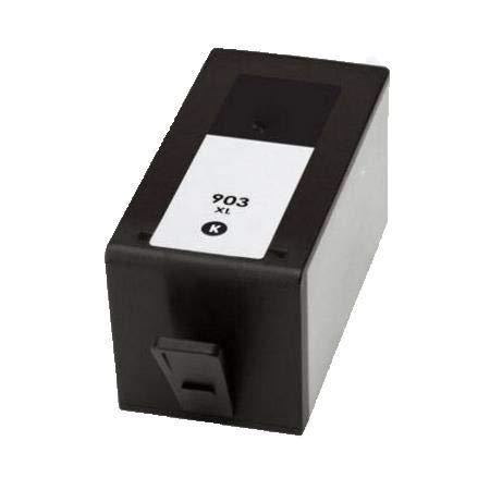RudyTwos - Cartucho de Tinta de Repuesto para HP 903XLBK, Color ...