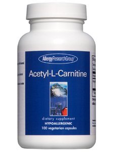 Allergy Research Group - Acetyl-L-Carnitine 500 mg 100 Capsules by Allergy Research Group