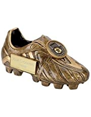 "5"" Premier Boot Football Trophy with FREE ENGRAVING up to 30 Letters A1305G"