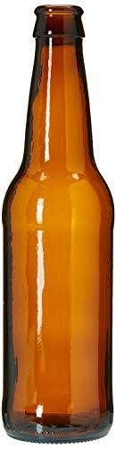 Home Brew Ohio 12 oz Beer Bottles- Amber- Case of 24