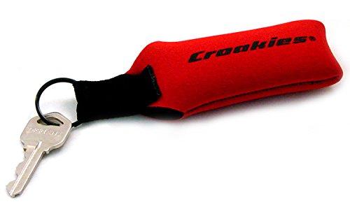 Croakies Croakies & Cords - Croakies Floating Key Ring / Red