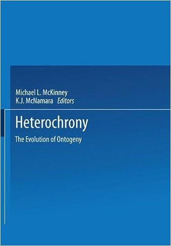 Heterochrony: The Evolution of Ontogeny