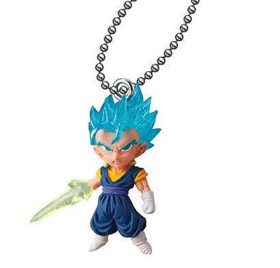 Dragon Ball Super Udm Best 29 Figure Swing Keychain~SSGSS Vegeto~41mm