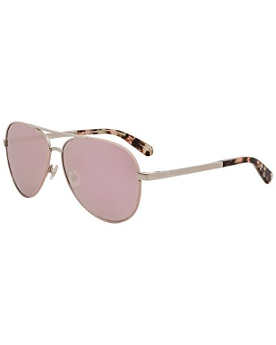 Kate Spade New York Womens Amarissa/S Gold/Pink/Grey/Rose Gold One - Kate Sunglasses Sale Spade