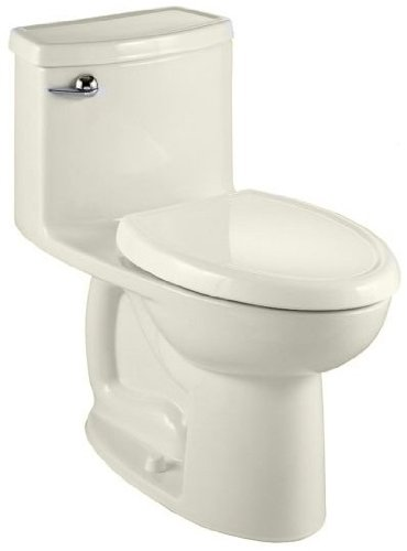 American Standard 2403.328.222 Compact Cadet 3 Flowise One Piece Toilet Less Seat, Linen