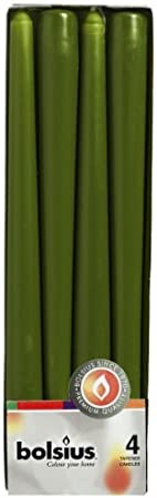 Stumpenkerzen Candela Rustica Verde Scuro Verde Scuro /Ø 6 cm Altezza 10 cm