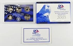2005 S US Proof set State Quarters Proof